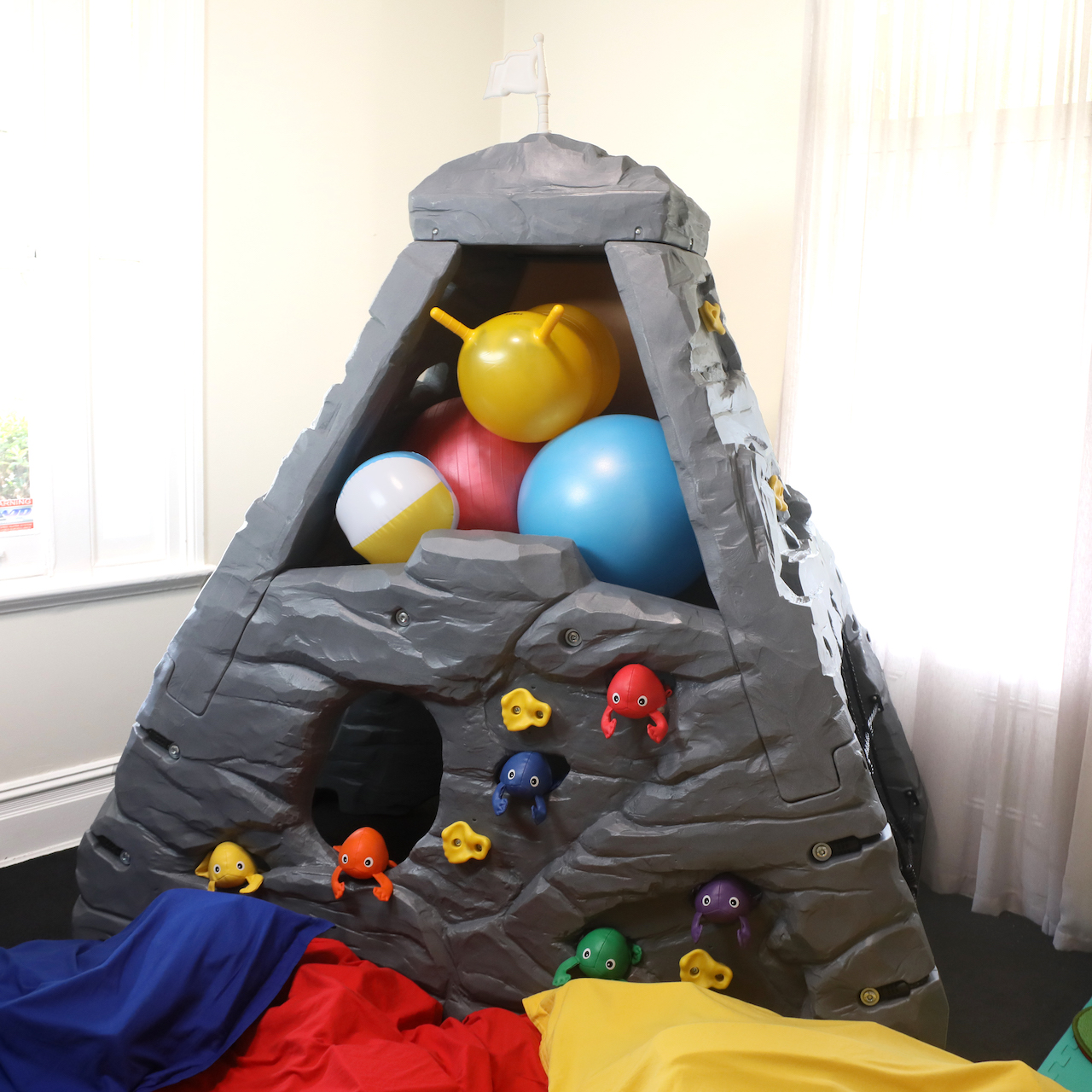 sensory mountain for occupational therapy with children